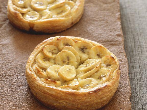 Kleine Bananenkuchen