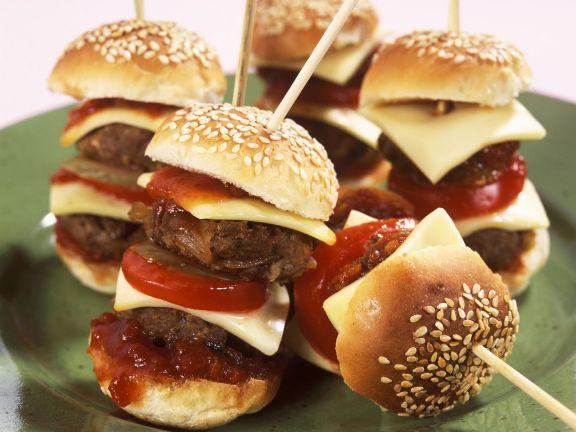 Kleine Cheeseburger
