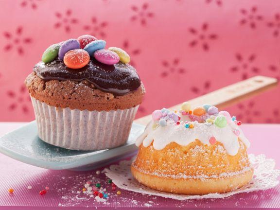 Kleine Gugelhupfe und Muffins