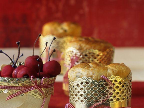 Kleine italienische Weihnachtskuchen
