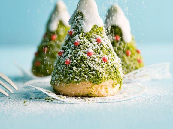 Kleine Muffin-Bäumchen