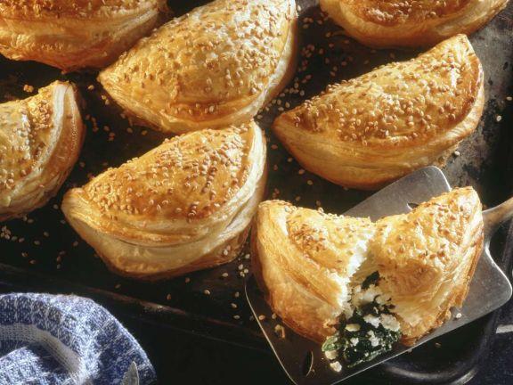 Kleine Pasteten aus Kreta