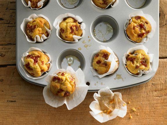 Kleine pikante Muffins
