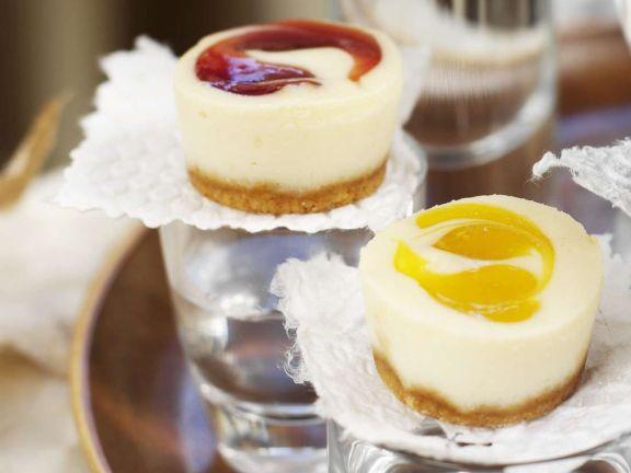 Kleine Quarkkuchen