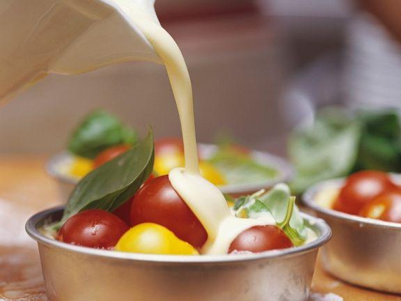Kleine Tomaten-Quiches
