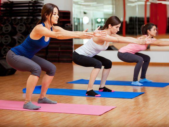 Übungen, die abnehmen sollen