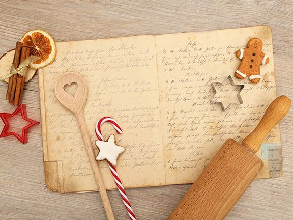 Kochbuch als Weihnachtsgeschenk