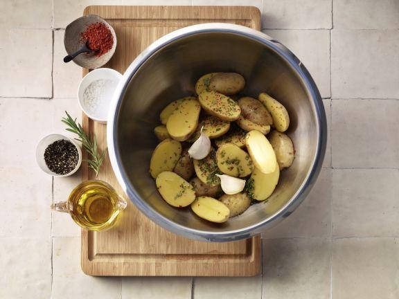 Köstliche Rosmarin Kartoffeln