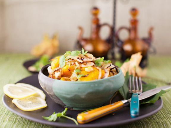 Kokos-Kürbis-Curry