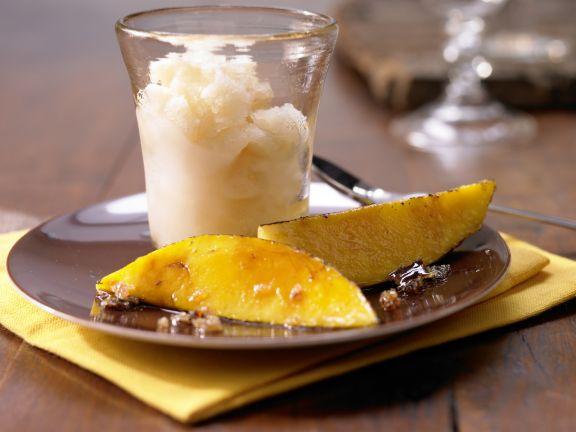 Kokos-Limetten-Eis