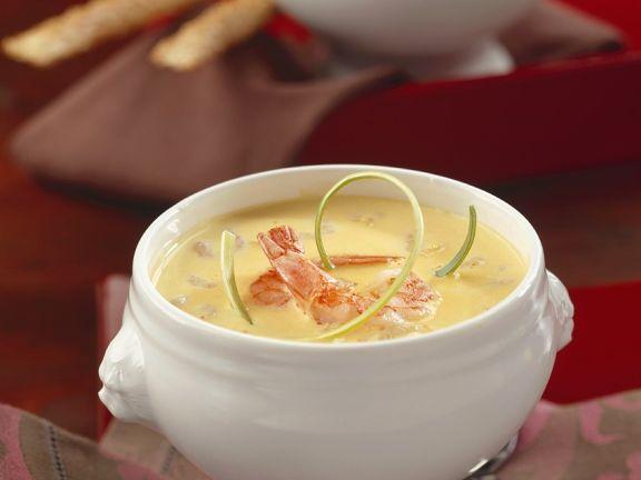 Kokos-Shrimpssuppe