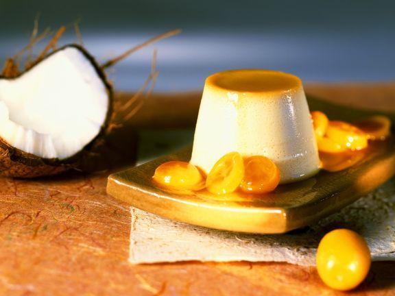 Kokoscreme mit Zwergorangen