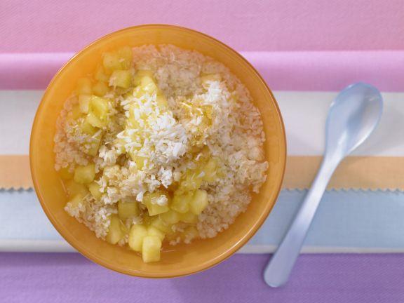 Kokosmüsli mit Ananas
