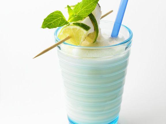 Kokosnuss-Shake (vegan)