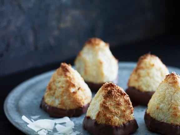 Kokosplätzchen mit Ingwer