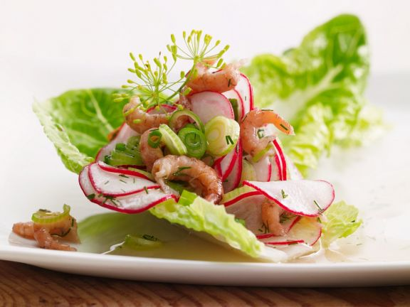 Krabben-Radieschen-Salat