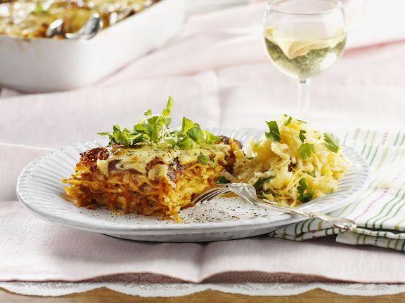 Kräuter-Lasagne