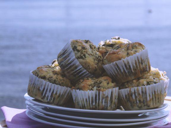 Kräuter-Parmesan-Muffins