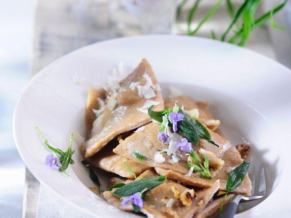 Kräuter-Ravioli
