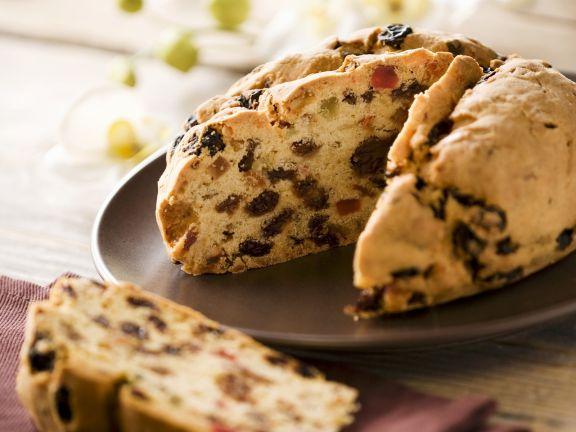 Kuchen mit kandierten Früchten auf italienische Art Rezept ...