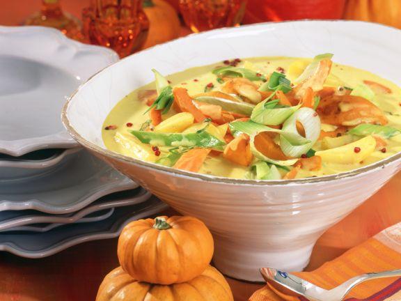 Kürbis-Gemüse-Curry