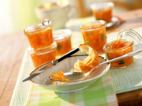 Kürbis-Grapefruit-Konfitüre