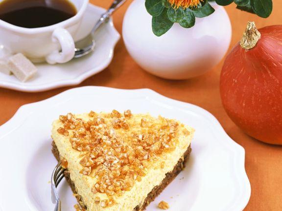 Kürbis-Käsekuchen Rezept | EAT SMARTER