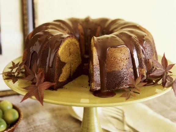 Kürbis-Schoko-Kuchen