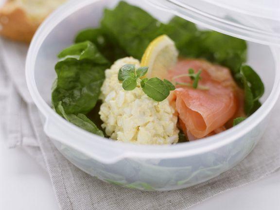 Lachs-Eier-Salat
