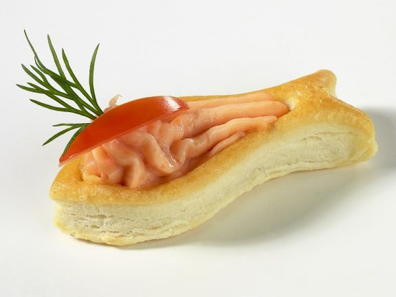 Lachscreme-Pastetchen