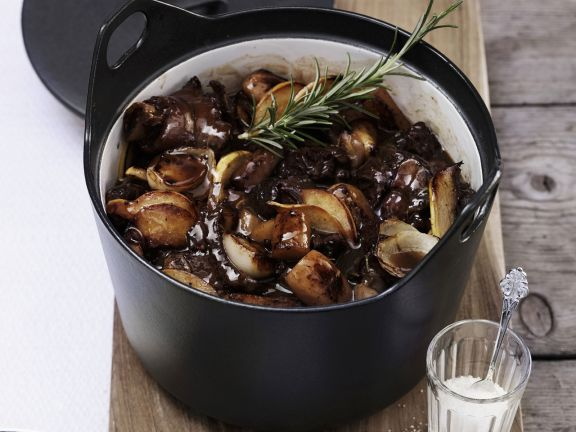 Lamm-Kartoffel-Eintopf auf Tiroler Art