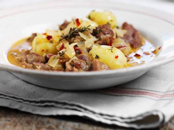 Lamm-Kartoffeleintopf