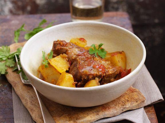 Lamm-Kartoffelragout