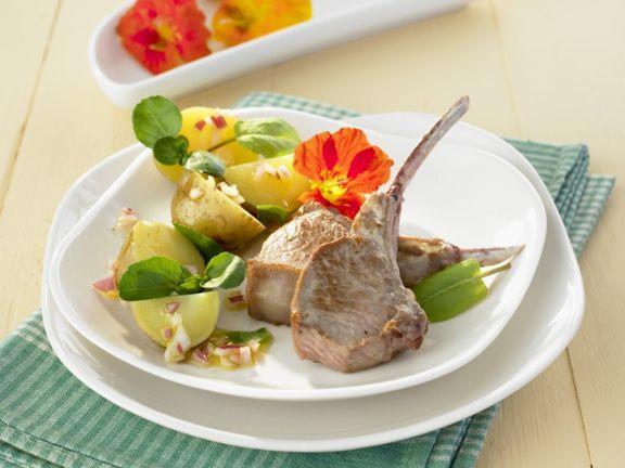 Lamm mit Kartoffelsalat