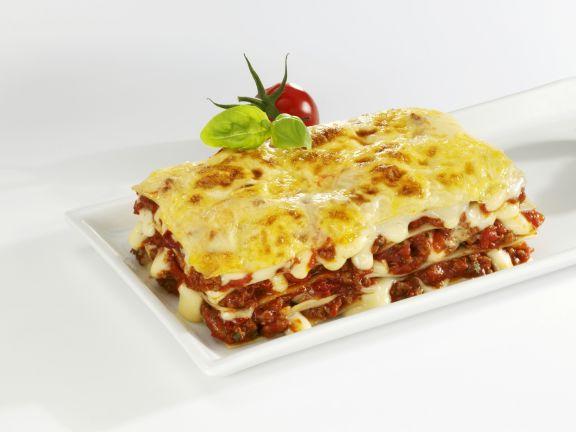 Lasagne mit frischen Tomaten