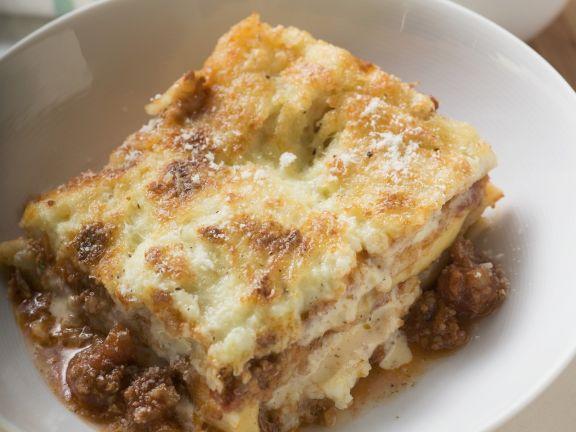 Lasagne mit Hackfleischfüllung