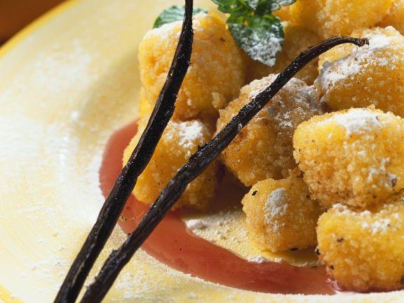 Latte dolce fritto (Gebackene Vanillecreme, Italien)