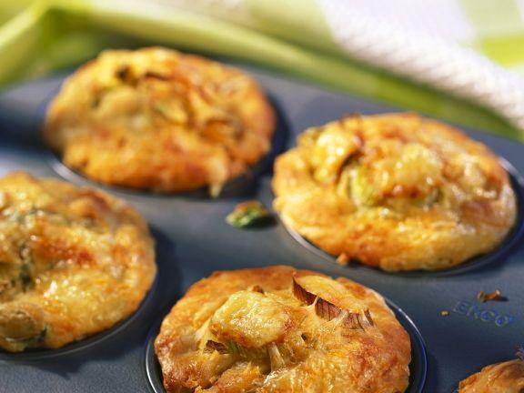 Lauch-Muffins