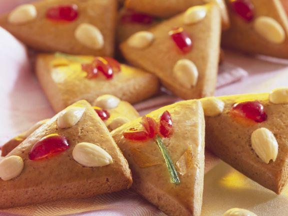 Lebkuchen mit Mandeln