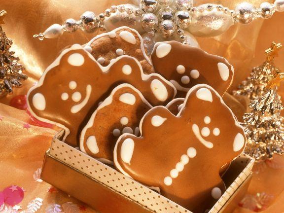 Lebkuchen-Schokobären