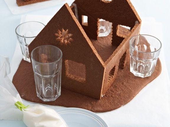 Lebkuchenhaus herstellen