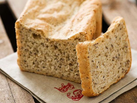 Leinsamen-Hirse-Brot