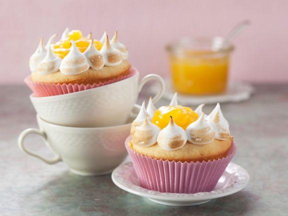 Lemon-Baiser-Muffins