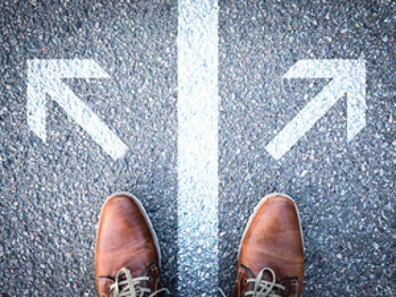Die richtige Entscheidung zu treffen, ist nicht immer einfach. © Marco2811