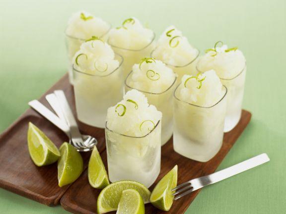 Limonen-Granité mit Vodka
