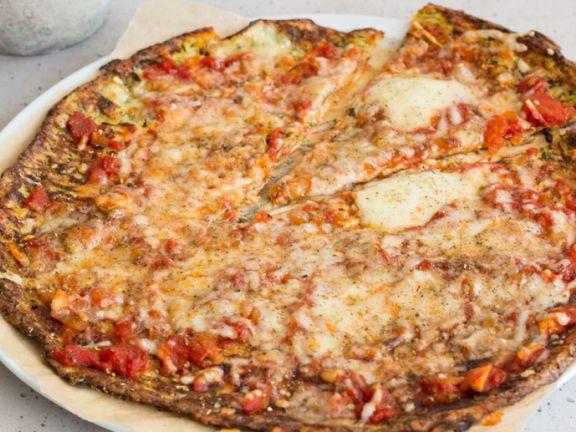 Low Carb Zucchinipizza Rezept Eat Smarter