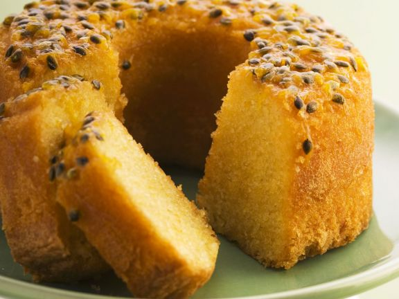 Rezept: Macadamia-Maracuja-Kuchen (glutenfrei)