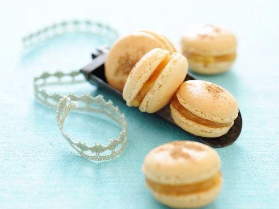 Macarons mit Apfel