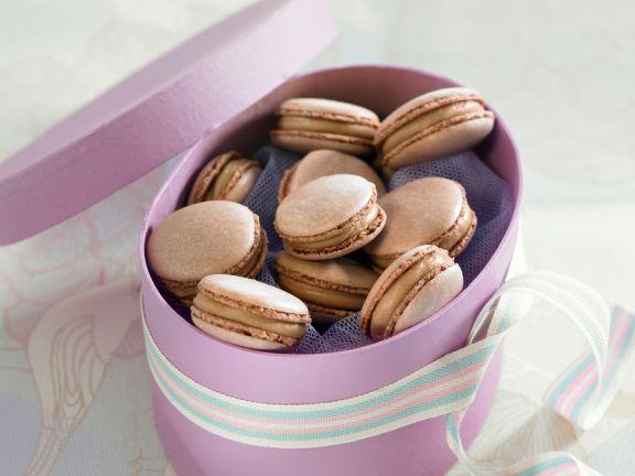 Macarons mit Kakao