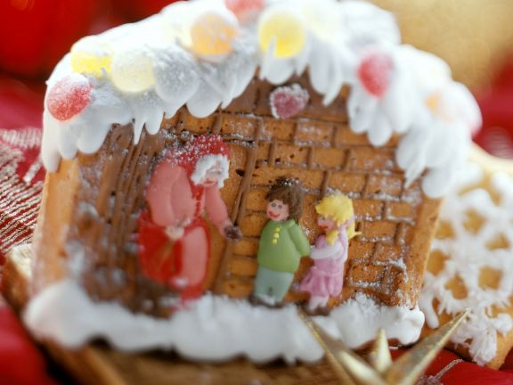 Märchenhaftes Lebkuchenhaus